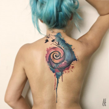 Spiral 'coverup'