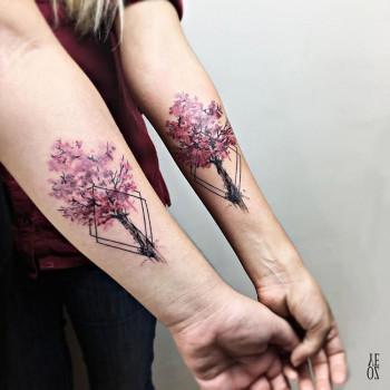 Sister spirit - cherry blossom