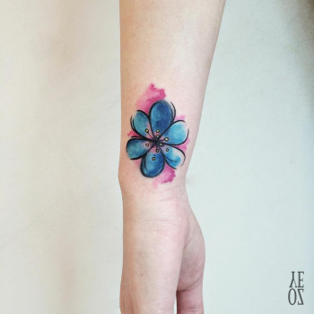flower 'coverup'
